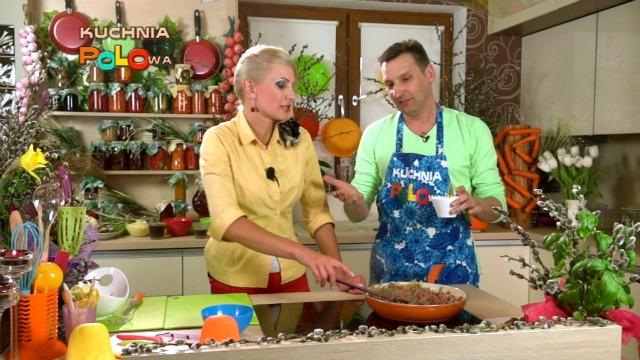 POLO TV poleca Elwira Mejk zdradza przepis z Kuchni Polowej  gościem był Rob   -> Kuchnia Polowa Elwira Mejk
