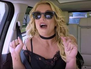 Britney Spears nawet w Carpool Karaoke śpiewa z playbacku