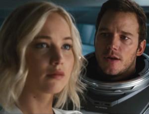 Jennifer Lawrence uwodzi Chrisa Pratta w kosmosie! Zwiastun Passengers